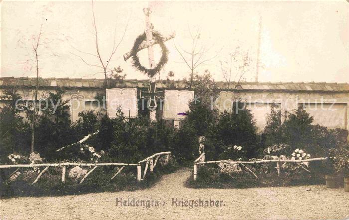 AK / Ansichtskarte Augsburg Heldengrab Kriegshaber  Kat. Augsburg