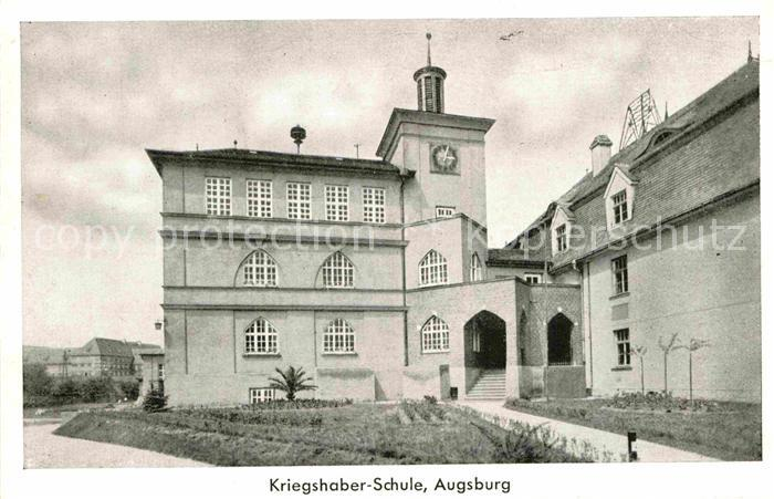 AK / Ansichtskarte Kriegshaber Schule  Kat. Augsburg