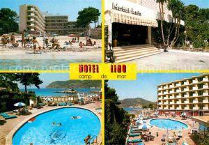 AK / Ansichtskarte Camp de Mar Hotel Lido Strand Swimming Pool Kat. Andratx Mallorca