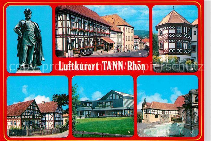 AK / Ansichtskarte Tann Rhoen Ludwig Freiherr von und zu der Tann Rothsamhausen Schloss  Kat. Tann (Rhoen)