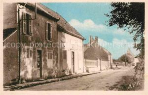 AK / Ansichtskarte Givardon Entree du Bourg et Mairie Kat. Givardon