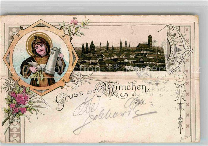 AK / Ansichtskarte Muenchen Muenchner Kindl Kat. Muenchen