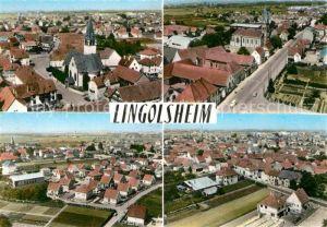 AK / Ansichtskarte Lingolsheim Vue generale aerienne Le nouveau quartier Kat. Lingolsheim