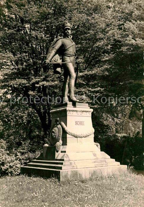 AK / Ansichtskarte Denkmal Ferdinand von Schill Stralsund  Kat. Denkmaeler