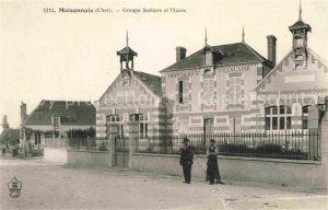 AK / Ansichtskarte Maisonnais Groupe Scolaire et Mairie Kat. Maisonnais