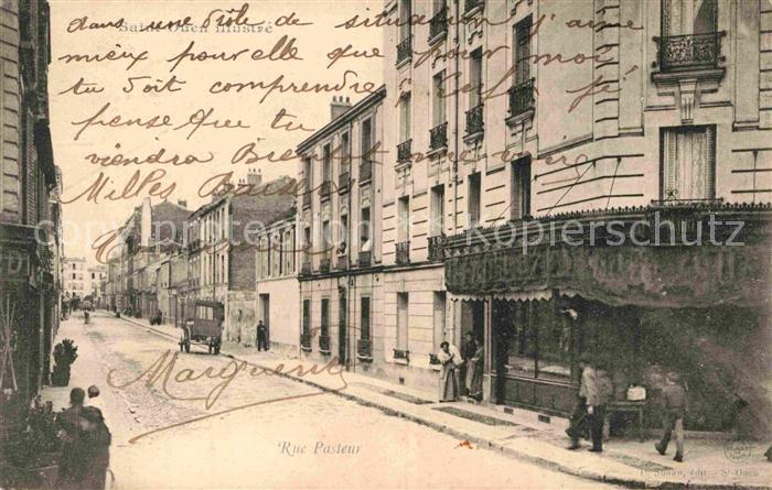 AK / Ansichtskarte Saint Ouen Loir et Cher Rue Pasteur Kat. Saint Ouen