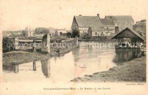 AK / Ansichtskarte Courseulles sur Mer Le Moulin et son Lavoir Kat. Courseulles sur Mer
