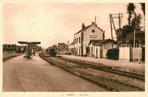 AK / Ansichtskarte Brou La Gare Kat. Brou