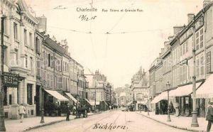 AK / Ansichtskarte Charleville Marne Rue Thiers et Grande Rue Kat. Charleville