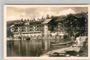 AK / Ansichtskarte Garmisch Partenkirchen Eibsee Hotel Kat. Garmisch Partenkirchen