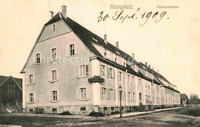 AK / Ansichtskarte Koenigsfeld Schwarzwald Schwesternhaus  Kat. Koenigsfeld im Schwarzwald
