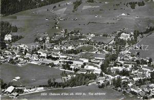 AK / Ansichtskarte Chateau d Oex Vue aerienne Kat. Chateau d Oex