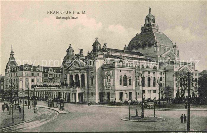 AK / Ansichtskarte Frankfurt Main Schauspielhaus Kat. Frankfurt am Main 0