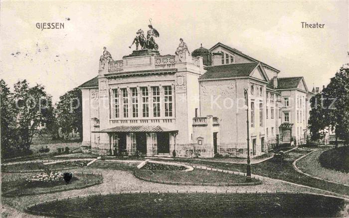 AK / Ansichtskarte Giessen Lahn Theater Kat. Giessen