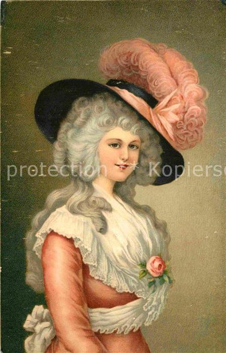 AK / Ansichtskarte Adel England Duchess of Devonshire Kuenstlerkarte Thomas Gainsborough  Kat. Koenigshaeuser