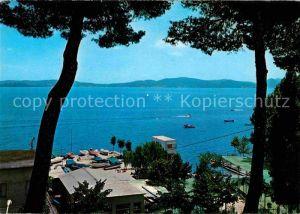 AK / Ansichtskarte Castiglione del Lago Panorama Lago Trasimeno