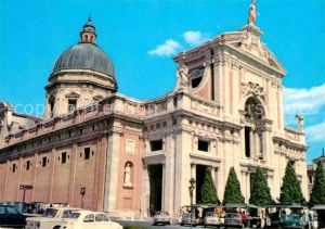 AK / Ansichtskarte Assisi Umbria Basilica Patriarcale di Santa Maria degli Angeli Basilika Kat. Assisi