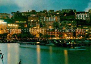 AK / Ansichtskarte Napoli Neapel Mergellina notturno Kat. Napoli