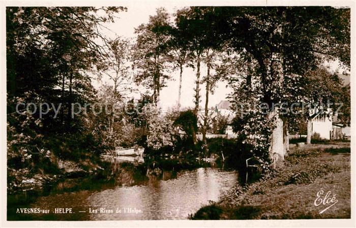 AK / Ansichtskarte Avesnes sur Helpe Les rives de l Helpe Kat. Avesnes sur Helpe