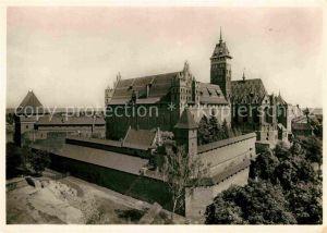 AK / Ansichtskarte Marienburg Westpreussen Die Marienburg Schloss des Dt Ritterordens Kat. Malbork Polen