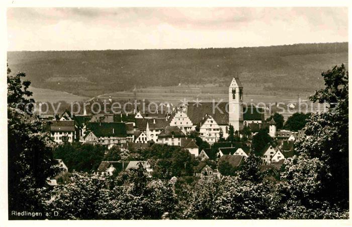 AK / Ansichtskarte Riedlingen Donau Kirche Panorama Kat. Riedlingen