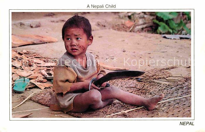 AK / Ansichtskarte Nepal A Nepali Child Kat. Nepal