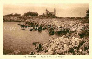 AK / Ansichtskarte Antibes Alpes Maritimes Pointe du Cap La Mosquee Kat. Antibes