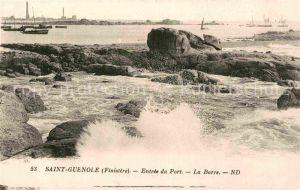 AK / Ansichtskarte Saint Guenole Entree du Port La Barre Kat. Frankreich