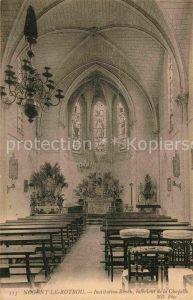 AK / Ansichtskarte Nogent le Rotrou Institution Renou Interieur de la Chapelle ND  Kat. Nogent le Rotrou