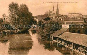 AK / Ansichtskarte Chartres Eure et Loir Vue prise du Pont Neuf Kat. Chartres
