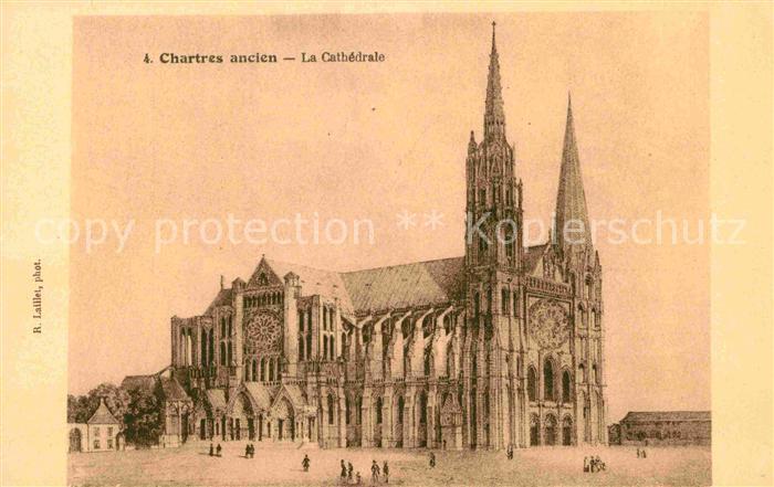 AK / Ansichtskarte Chartres Eure et Loir La Cathedrale Kat. Chartres