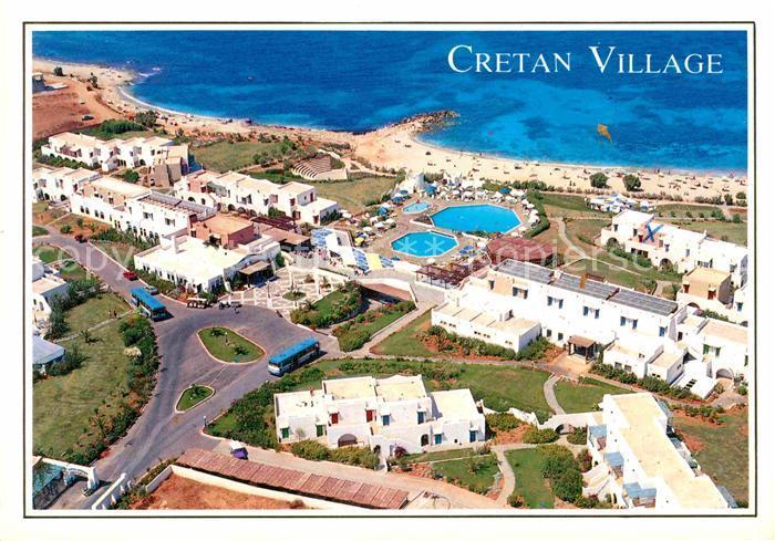 AK / Ansichtskarte Crete Kreta Cretan Village aerial view Kat. Insel Kreta