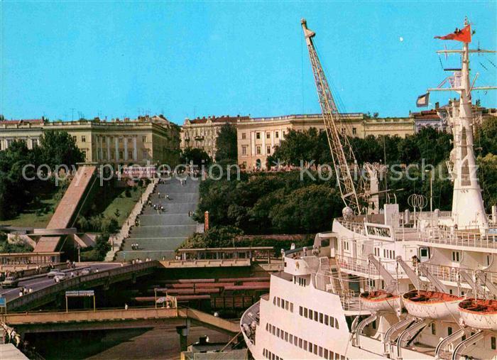 AK / Ansichtskarte Odessa Ukraine Hafen