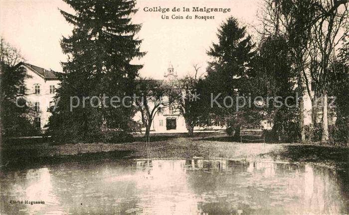 AK / Ansichtskarte Jarville la Malgrange College de la Malgrange Un Coin du Bosquet Kat. Jarville la Malgrange