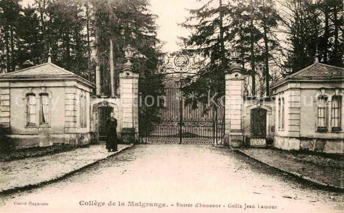 AK / Ansichtskarte Jarville la Malgrange College de la Malgrange Entree d honneur Grille Jean Lamour Kat. Jarville la Malgrange