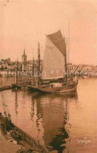 AK / Ansichtskarte Les Sables d Olonne Le Port La Chaume Kat. Les Sables d Olonne