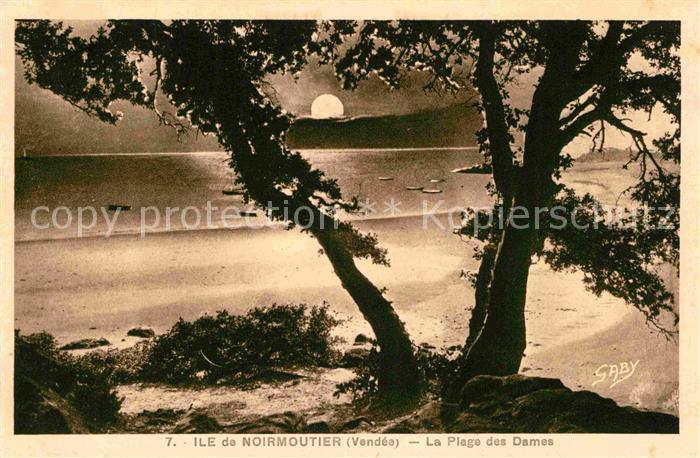 AK / Ansichtskarte Ile de Noirmoutier La Plage des Dames Kat. Noirmoutier en l Ile