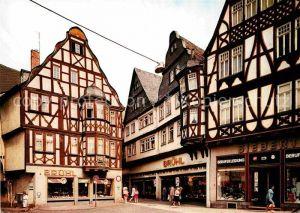 AK / Ansichtskarte Limburg Lahn Kornmarkt Altstadt Fachwerkhaeuser Kat. Limburg a.d. Lahn