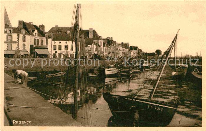 AK / Ansichtskarte Le Pouliguen Le Port Maree basse Kat. Le Pouliguen