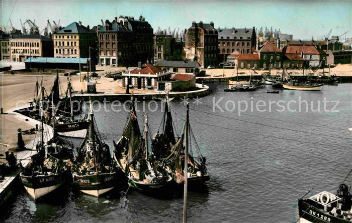 AK / Ansichtskarte Dunkerque Cale des Pecheurs Kat. Dunkerque