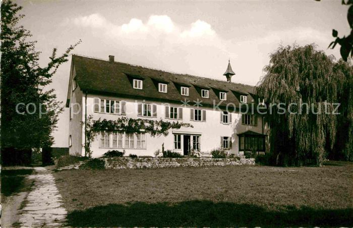 AK / Ansichtskarte Beutelsbach Weinstadt Landgut Burg Kat. Weinstadt