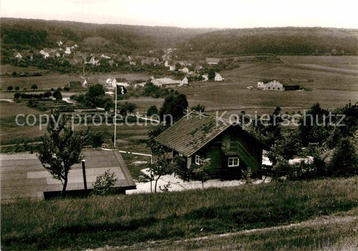 AK / Ansichtskarte Nattheim Freizeitheim des Evangelischen JungmaennerwerkesHeidenheim Kat. Nattheim