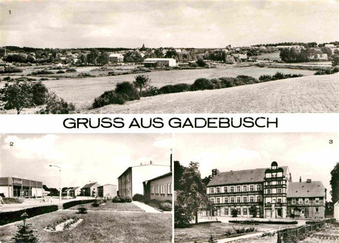 AK / Ansichtskarte Gadebusch Schloss Neubaugebiet Kat. Gadebusch