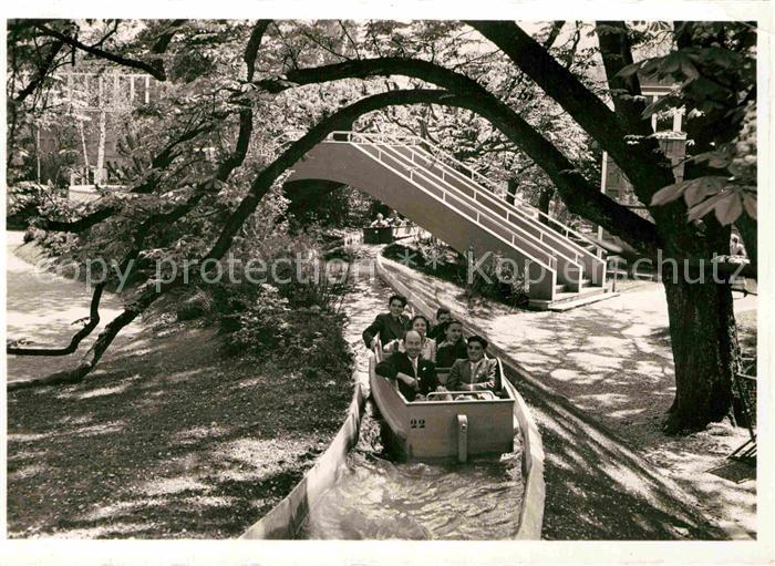 AK / Ansichtskarte Zuerich ZH Schweizer Landesausstellung 1939 Der Schifflibach im Park