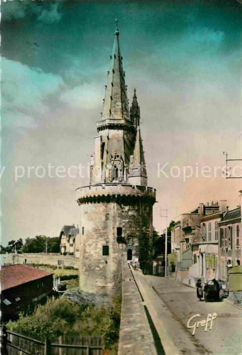 AK / Ansichtskarte La Rochelle Charente Maritime La tour des Quatre Sergents de La Rochelle Kat. La Rochelle