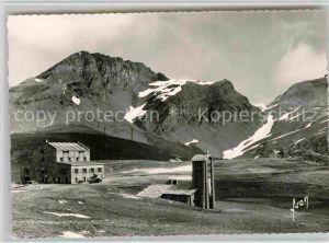 AK / Ansichtskarte Col de l Iseran Le Col Signal de l Iseran Le Col Pers Kat. Bourg Saint Maurice