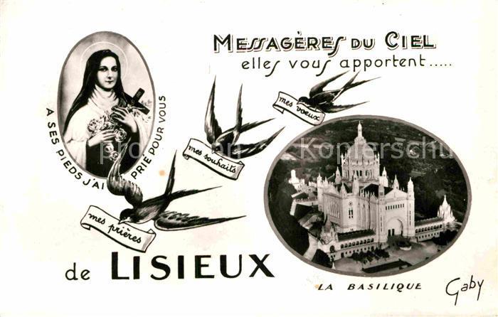 AK / Ansichtskarte Lisieux La Basilique Kat. Lisieux