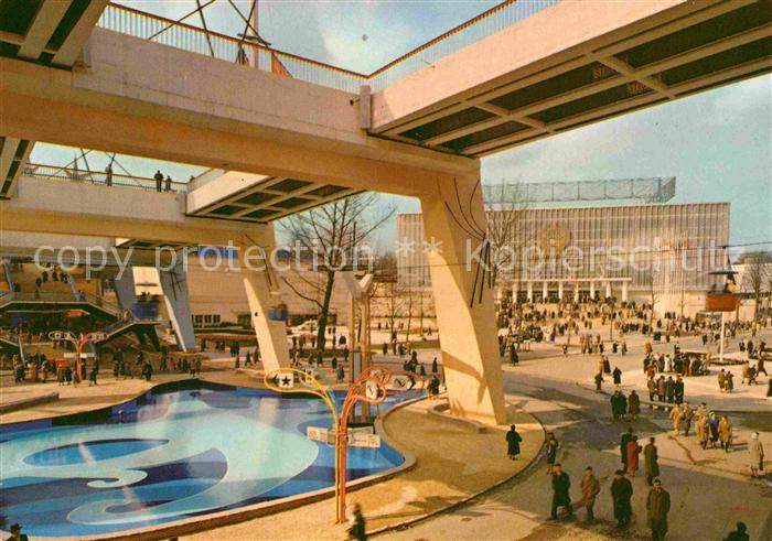 AK / Ansichtskarte Bruxelles Bruessel Exposition Universelle 1958 Kat.