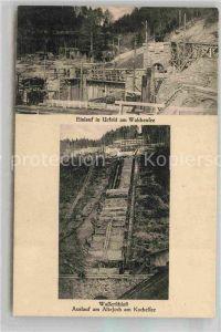 AK / Ansichtskarte Urfeld Walchensee Kraftwerk im Bau Kat. Kochel a.See