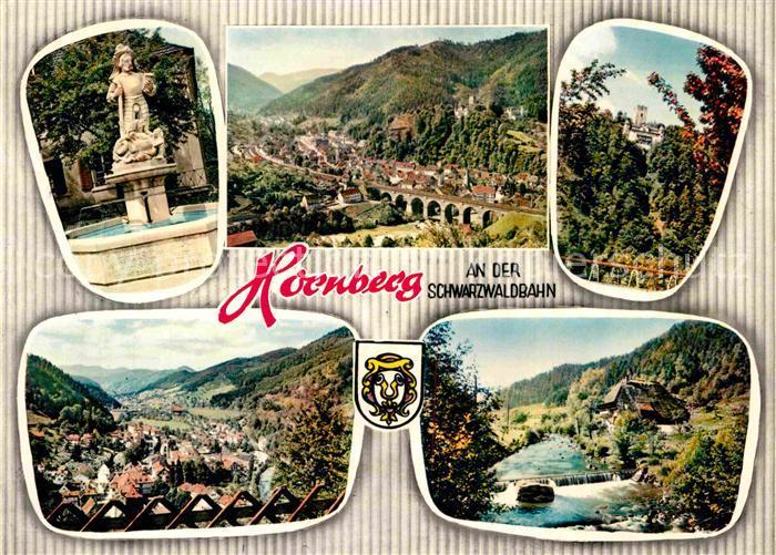 AK / Ansichtskarte Hornberg Schwarzwald  Kat. Hornberg